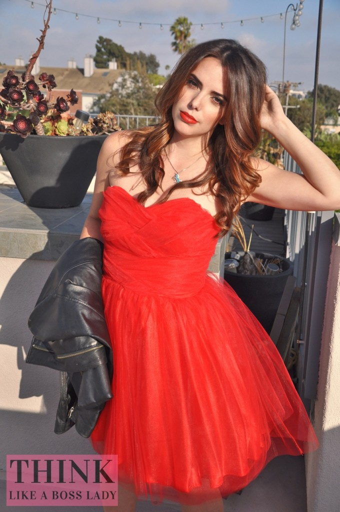 Little Red Dress - July 4th Fashion Look Book Idea | Think Like a Boss Lady, by Lisa Tufano