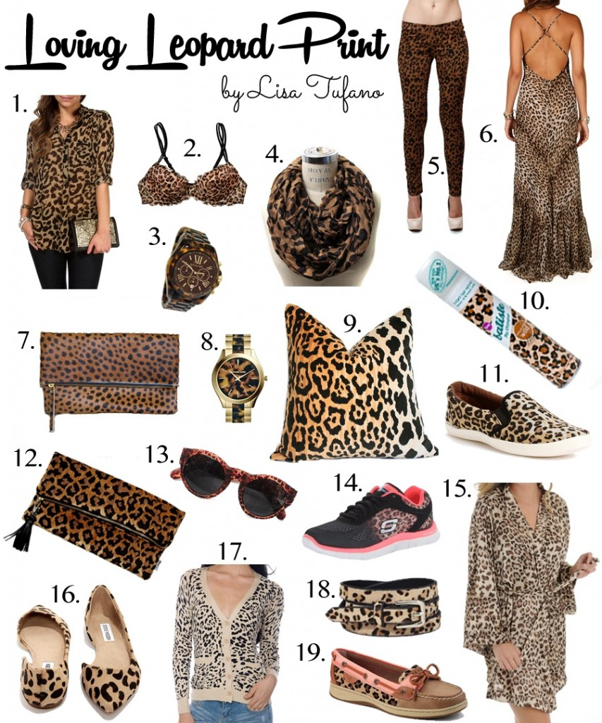 Loving Leopard Print | THINK LIKE A BOSS LADY, by Lisa Tufano | a guide to loving leopard print