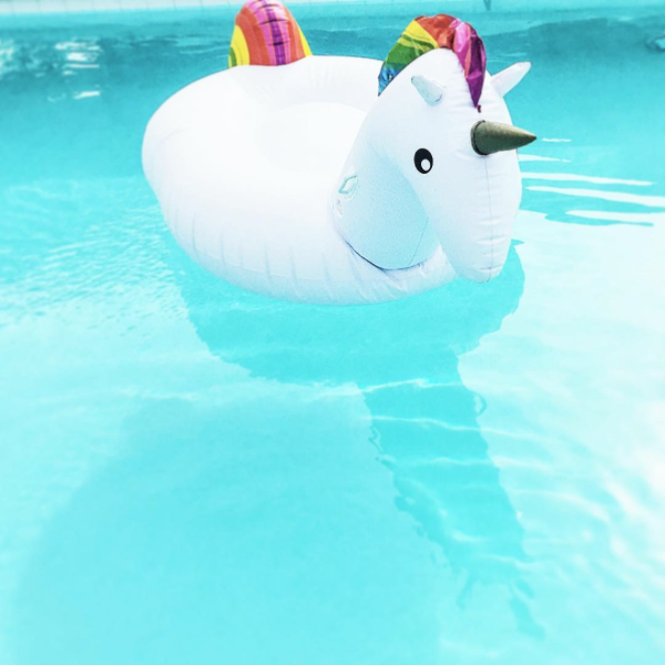 Giant Inflatable Unicorn Pool Toy