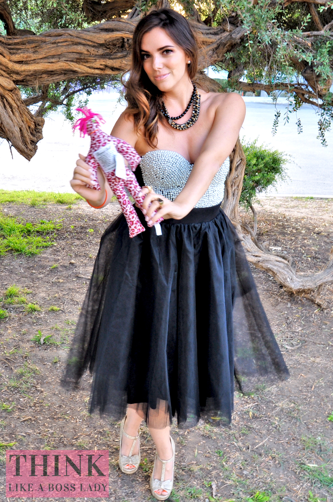 Bewitching Tulle Tutu Skirt and Pearl Beaded Bustier   Halloween Inspired Lookbook   THINK LIKE A BOSS LADY, by Lisa Tufano #fashion #styleblogger #halloween #ballerina #tutu #tulle #bustier #windsorstore