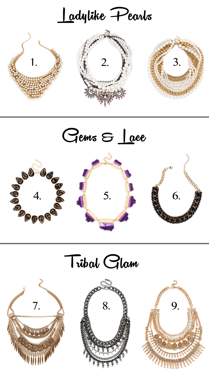 Fall Necklace Inspiration under $50 | THINK LIKE A BOSS LADY, created by Lisa Tufano #necklace #fashion #styleblogger #ootd #fashionista #affordable