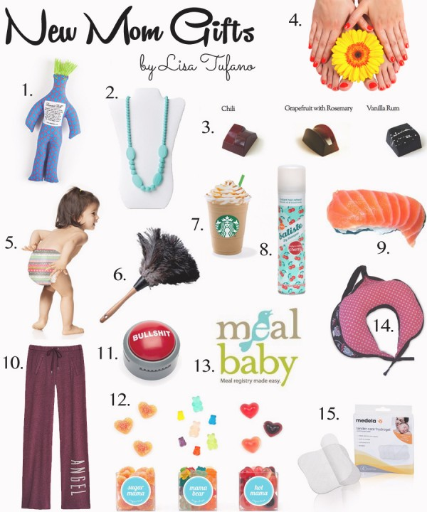 Ultimate Gift Guide for the New Mom | THINK LIKE A BOSS LADY, created by Lisa Tufano #newmom #gift