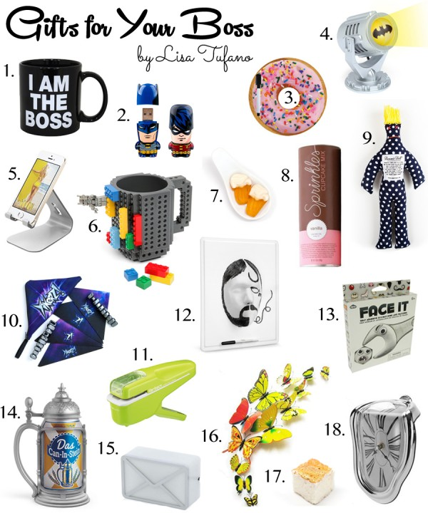 18 Affordable Office Gifts for your Boss on National Boss's Day | THINK LIKE A BOSS LADY, by Lisa Tufano #boss #giftideas #holidays