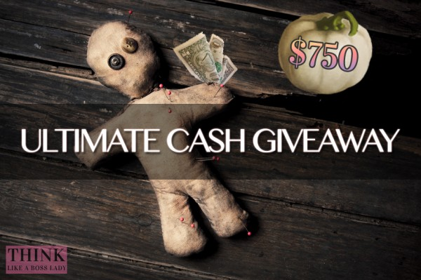 Ultimate Cash Giveaway via THINK LIKE A BOSS LADY and Lisa Tufano