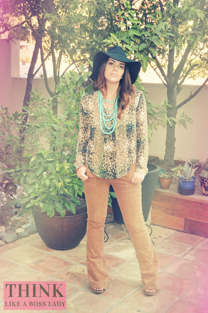 Boho Leopard for Fall| Bohemian Inspired Lookbook | THINK LIKE A BOSS LADY, by Lisa Tufano #fashion #styleblogger #tjmaxx #madewell #hippie #boho