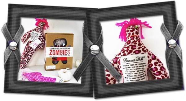 Coming soon! October Giveaways featuring DIY Zombie Kits and Dammit VooDoo dolls | THINK LIKE A BOSS LADY #halloween #contest #giveaway #zombie #diy