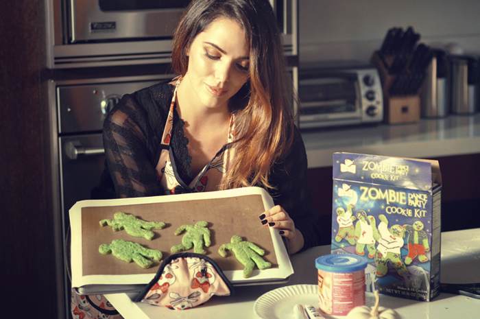 Dylan's Candy Bar featuring Zombie Cookies | by Lisa Tufano of THINK LIKE A BOSS LADY #zombie #halloween #walkingdead