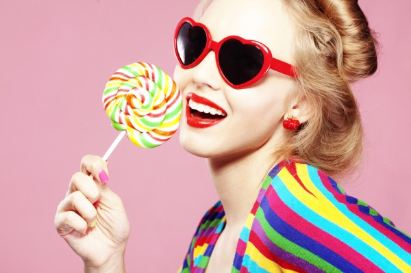 Lollipop girl | as featured on THINK LIKE A BOSS LADY, a blog by Lisa Tufano