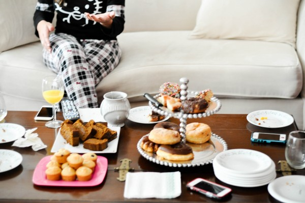 Christmas Pajama Girls-Only Brunch by Natalie Wong ℅ Lisa Tufano