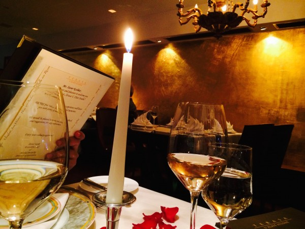 Romantic Package dinner at the Golden Well Hotel restaurant in Prague