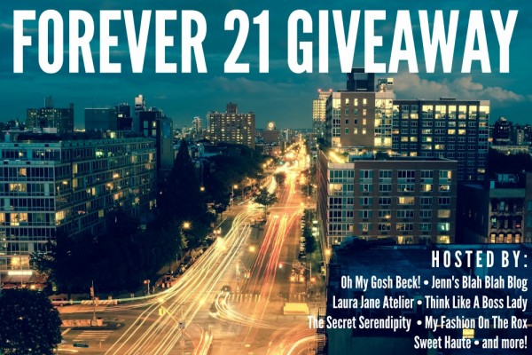 Forever 21 Giveaway | thinklikeabosslady.com