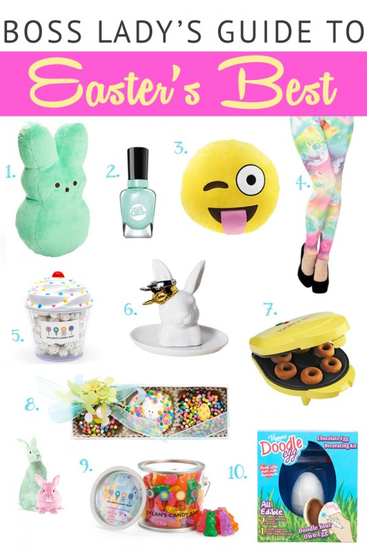 Cutest Easter Gift Idea Guide featuring Dylan's Candy Bar | Lisa Tufano and THINK LIKE A BOSS LADY