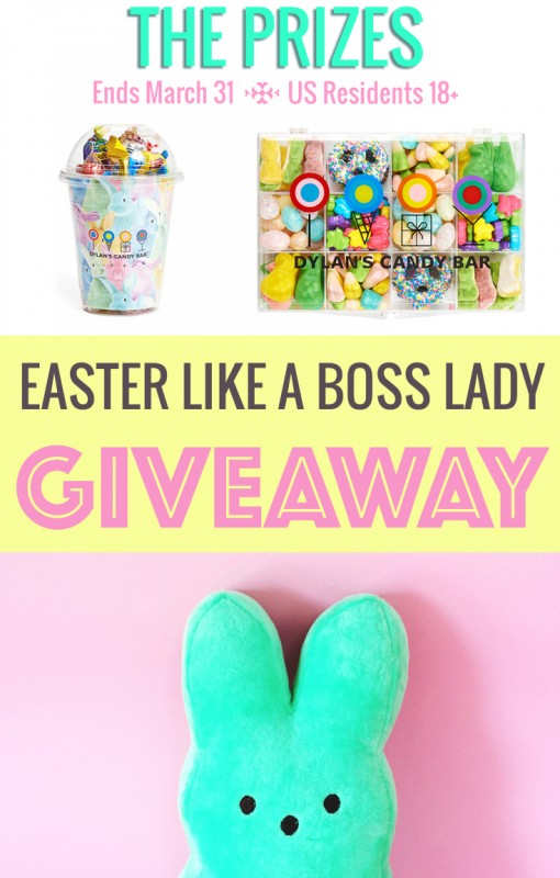 Easter Giveaway from Lisa Tufano and THINK LIKE A BOSS LADY | thinklikeabosslady.com