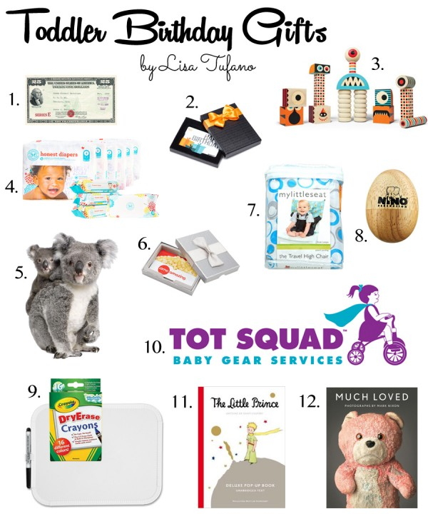 12 Practical But Fun Toddler Birthday Gifts Curated By Lisa Tufano Of THINK LIKE A
