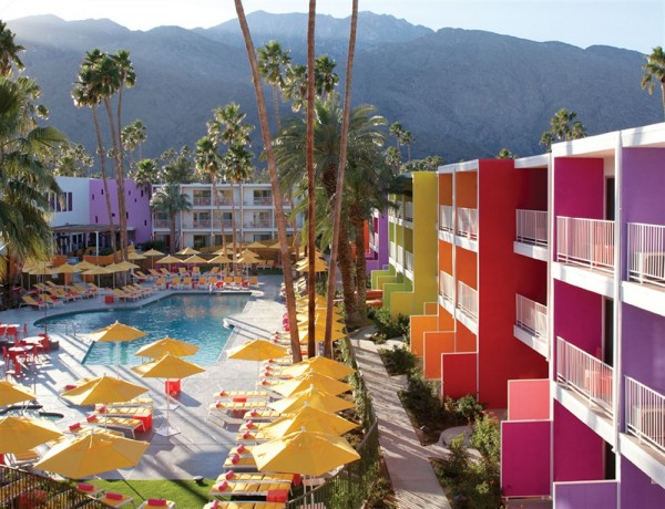 The Saguaro Hotel in Palm Springs - hotel pool area