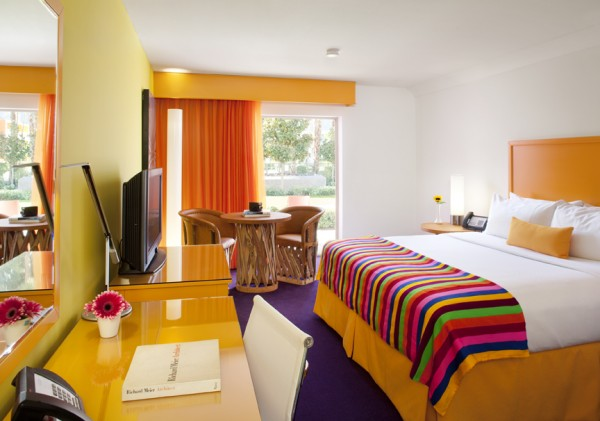 The Saguaro Hotel in Palm Springs - room interior