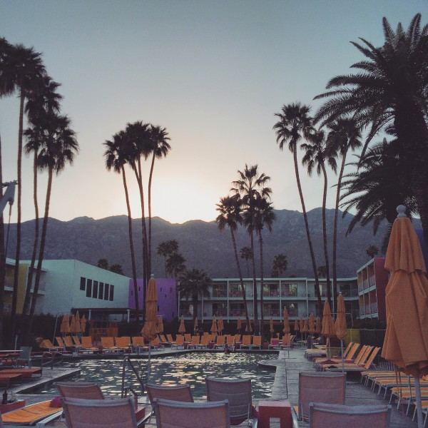 Weekend Getaway at the Saguaro Hotel in Palm Springs