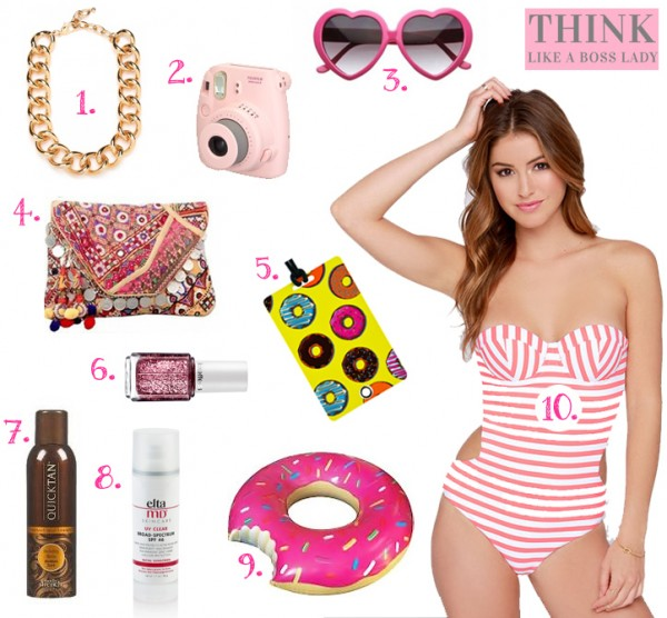 Palm Springs California Packing List for Vacation