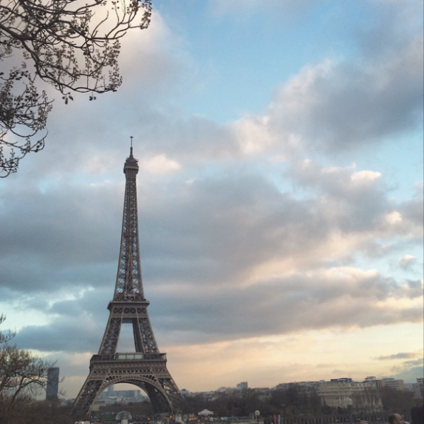 Eiffel Tower - Paris Travel Blogger Lisa Tufano