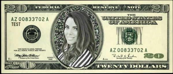 Lisa Tufano on The Twenty Dollar Bill