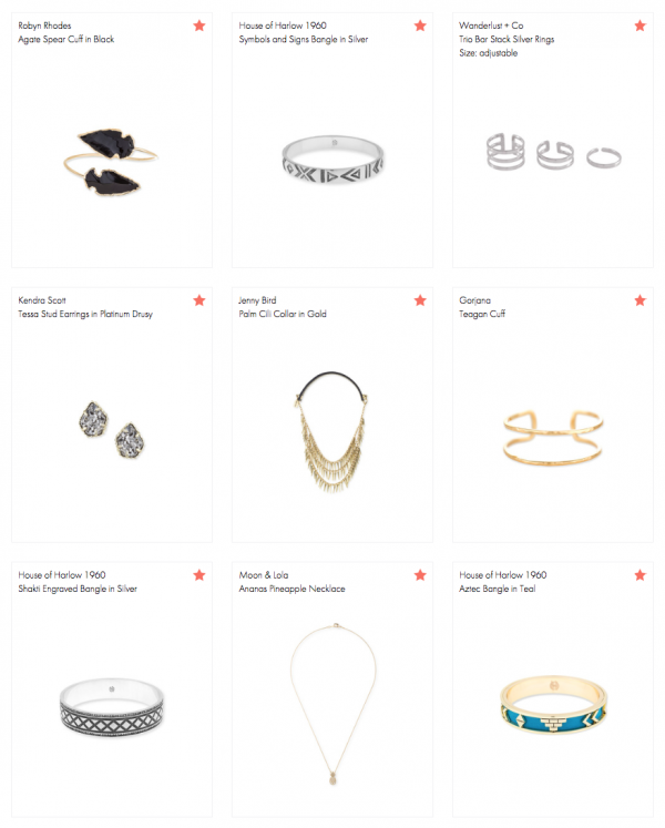 Lisa Tufano's Rocksbox Wish list
