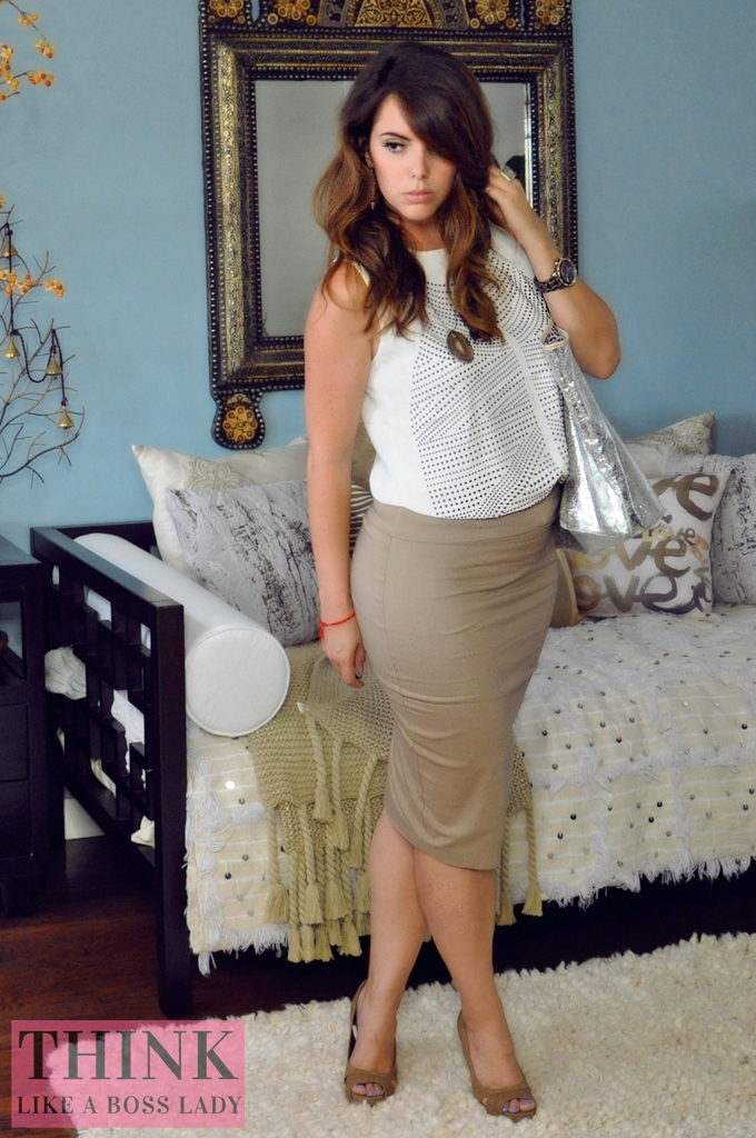 Ladylike in Khaki | THINK LIKE A BOSS LADY created by Lisa Tufano