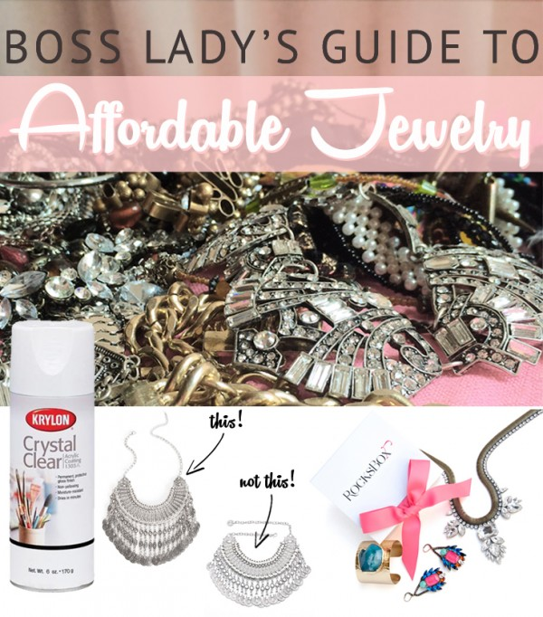 Guide to Affordable Jewelry and Accessories - Think Like a Boss Lady