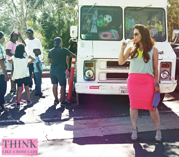 Where does the ice cream truck go after summer ends? Lisa Tufano, THINK LIKE A BOSS LADY