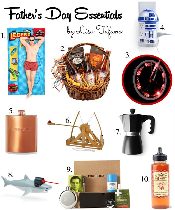 2016 Affordable Father's Day Gift Guide created by Lisa Tufano, THINK LIKE A BOSS LADY